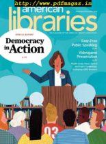 American Libraries – November 2019