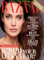 Harper's Bazaar USA – December 2019