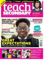 Teach Secondary – Issue 87 – November 2019