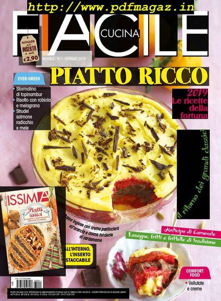 Download Facile Cucina Gennaio 2019 Pdf Magazine