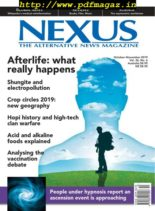 Nexus Magazine – October-November 2019