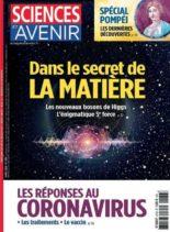Sciences et Avenir – avril 2020