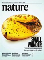 Nature – 12 March 2020