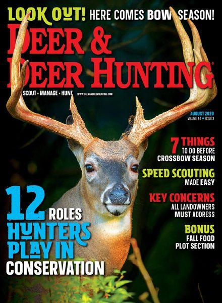 Deer & Deer Hunting – August 2020