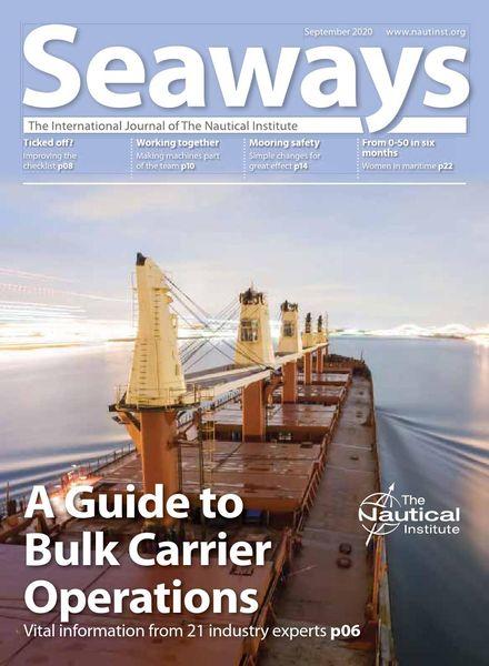 Seaways – September 2020