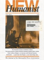 New Humanist – November 1994
