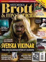 Historiska Brott & Mysterier – oktober 2020