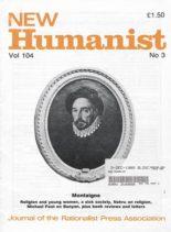 New Humanist – November 1989