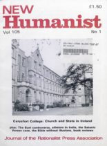 New Humanist – May 1990