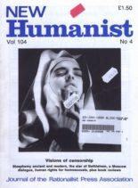 New Humanist – January 1990