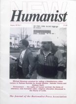 New Humanist – March 1992