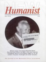 New Humanist – October 1990