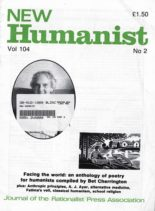 New Humanist – August 1989