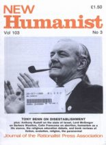 New Humanist – October 1988