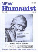 New Humanist – December 1988