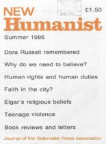 New Humanist – Summer 1986