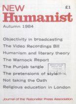 New Humanist – Autumn 1984