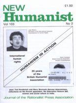 New Humanist – June 1988