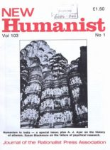 New Humanist – March 1988