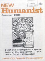 New Humanist – Summer 1985