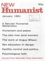 New Humanist – January 1981