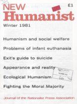 New Humanist – Winter 1981