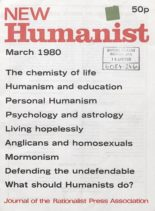 New Humanist – March 1980