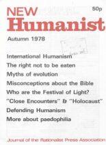 New Humanist – Autumn 1978
