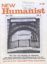 New Humanist – September 1987