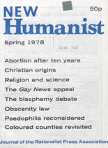 New Humanist – Spring 1978
