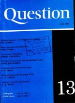 New Humanist – Question July 1980