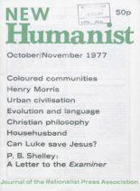 New Humanist – October-November 1977