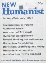 New Humanist – January-February 1977
