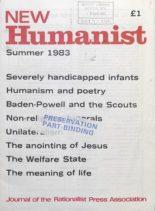 New Humanist – Summer 1983