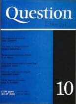 New Humanist – Question, January 1977