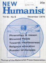 New Humanist – December 1975