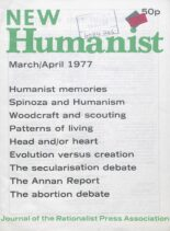 New Humanist – March-April 1977