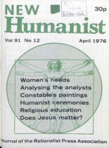 New Humanist – April 1976
