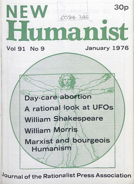 New Humanist – January 1976