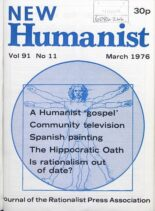 New Humanist – March 1976
