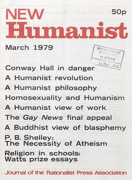 New Humanist – March 1979
