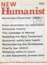 New Humanist – November-December 1976