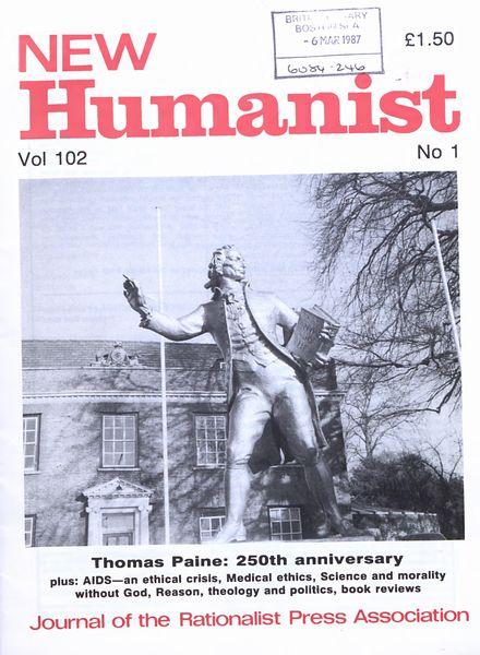 New Humanist – Vol 102, N 1