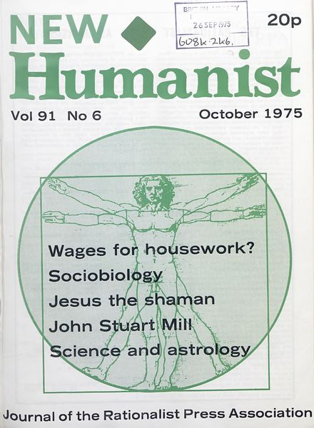 New Humanist – October 1975