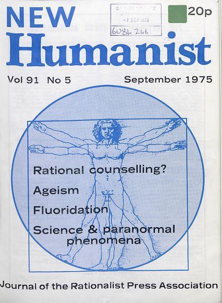 New Humanist – September 1975