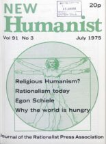 New Humanist – July 1975