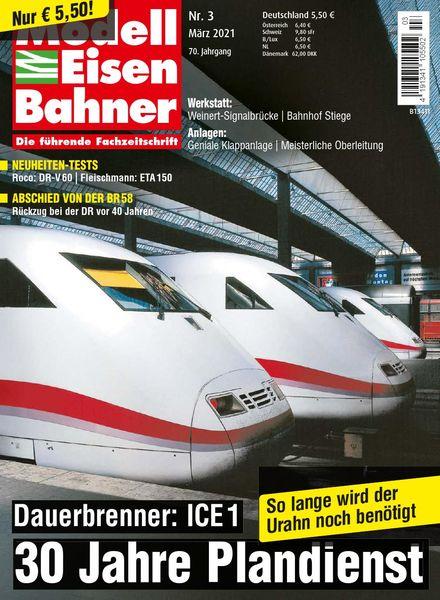 ModellEisenBahner – Marz 2021