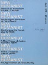 New Humanist – April 1975