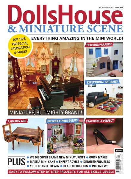 Dolls House & Miniature Scene – March 2021