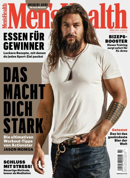Men's Health Germany – Marz 2021